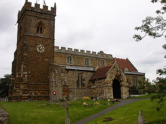 Wootton, Northamptonshire - The Church Of St. George The Martyr, Wootton