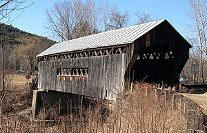 Steamtown, U.S.A. - Worrall Covered Bridge could be seen on excursion trains from Riverside to Chester