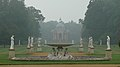 Wrest Park - Fountain and Pavillion in the early morning mist.jpg