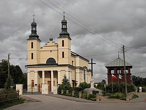 Wyśmierzyce - Image: Wyśmierzyce.Kościół 02