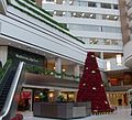 X-mas tree in atrium at Hyatt, National City Center.JPG