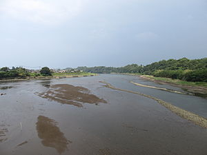 Yakkan River in Usa city, Oita prefecture.JPG