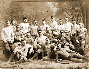 1886 Yale Bulldogs football team - Image: Yale Bulldogs (1886 team picture)