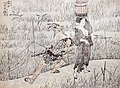 Yamome, Ōiko ga kairiki by Hokusai.jpg