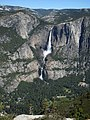 Yosemite Falls from the Pohono trail - panoramio.jpg