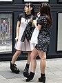 Young Women on Shopping Street - Sapporo - Hokkaido - Japan (47977657236).jpg