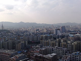 Heyuan Prefecture-level city in Guangdong, Peoples Republic of China