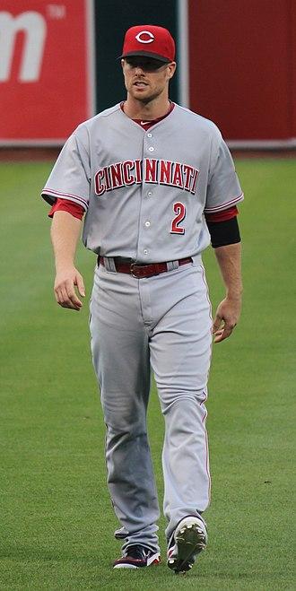 Zack Cozart - Cozart with the Cincinnati Reds