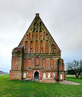 Zapyshkis old church, western gable.jpg