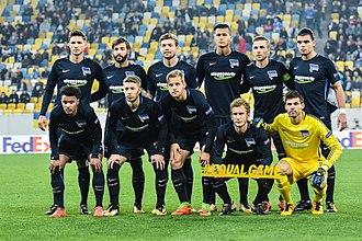 2017–18 Hertha BSC season - Image: Zarya Gertha (3)