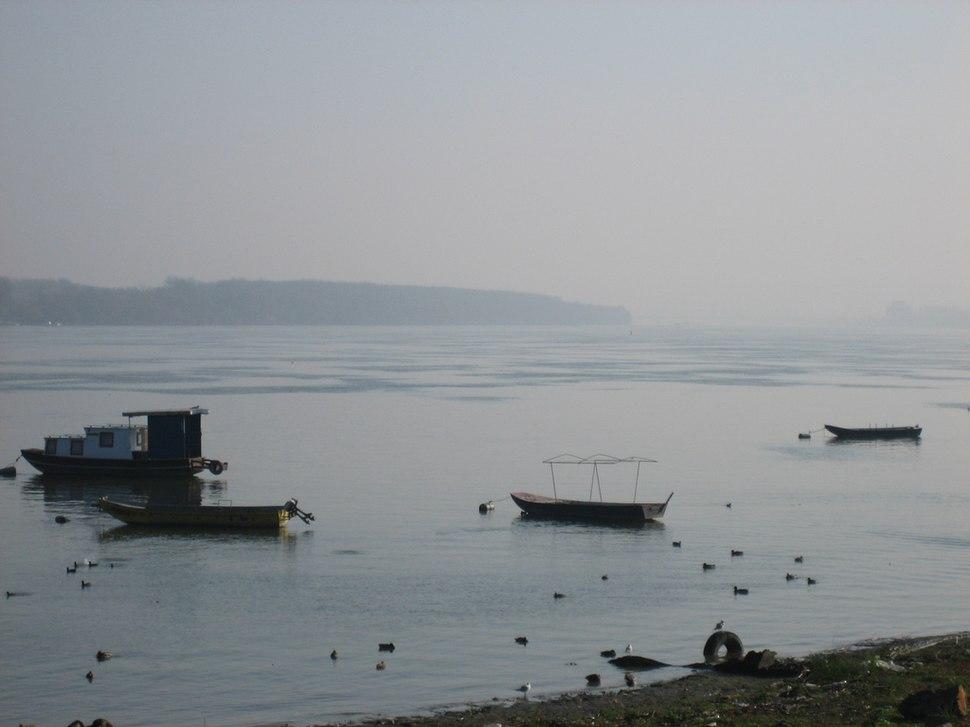 Zemun, le Danube