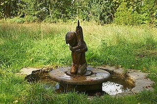 decorative fountain Elfenaupark