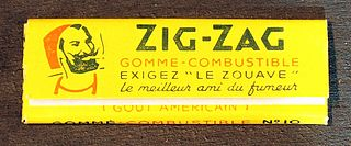 Zig-Zag (company) brand of rolling papers that originated in France