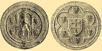 Mary, Queen of Hungary - Seal of Mary's husband, Sigismund of Luxembourg