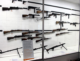 "German Tank Museum - ""Elements of War"" in German Tank Museum, Iron path"