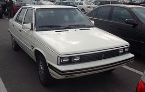 Renault Alliance - 1986 Alliance 4-door sedan