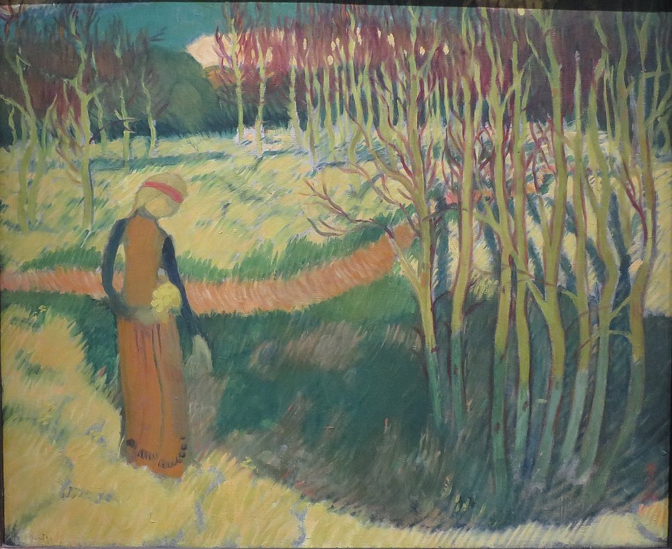 'Motif Romanesque' by Maurice Denis, 1890, LACMA