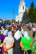 File:(002) APPLE SPAS CELEBRATION AT ST ASSUMPTION ORTHODOX CATHEDRAL IN CITY OF BAR REGION OF VINNYTSIA STATE OF UKRAINE VIDEO BY VIKTOR O LEDENYOV 20190819.ogv