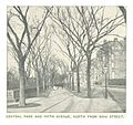 (King1893NYC) pg166 CENTRAL PARK AND FIFTH AVENUE, NORTH FROM 59TH STREET.jpg