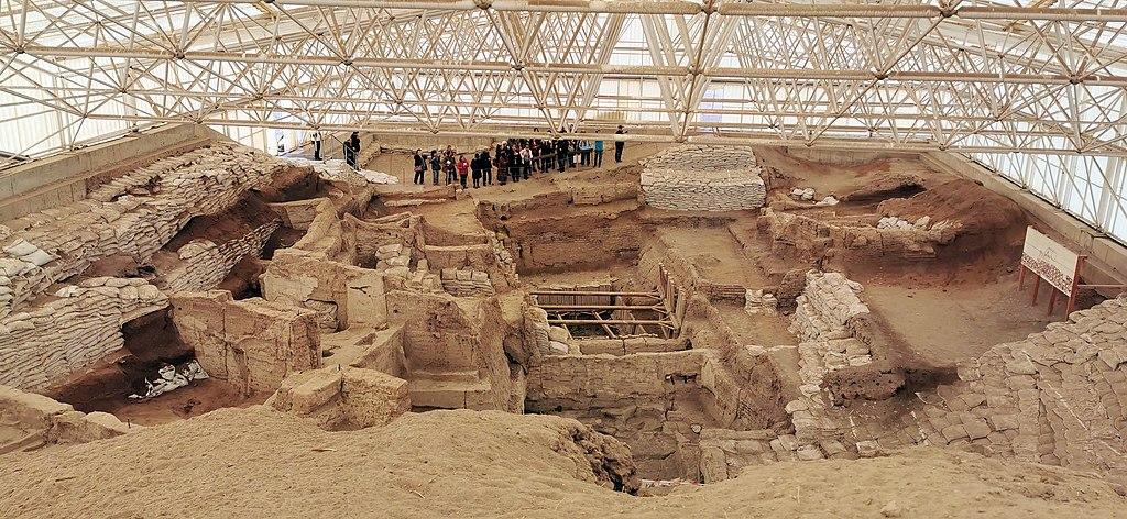 Çatalhöyük, 7400 BC, Konya, Turkey - UNESCO World Heritage Site, 08
