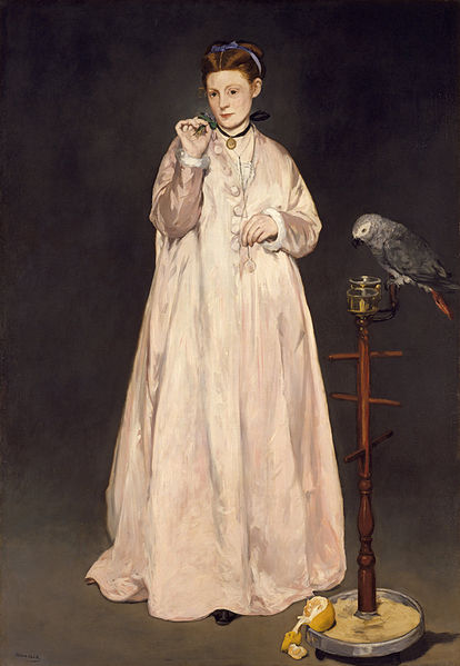 Ficheiro:Édouard Manet - Young Lady in 1866 - Google Art Project.jpg