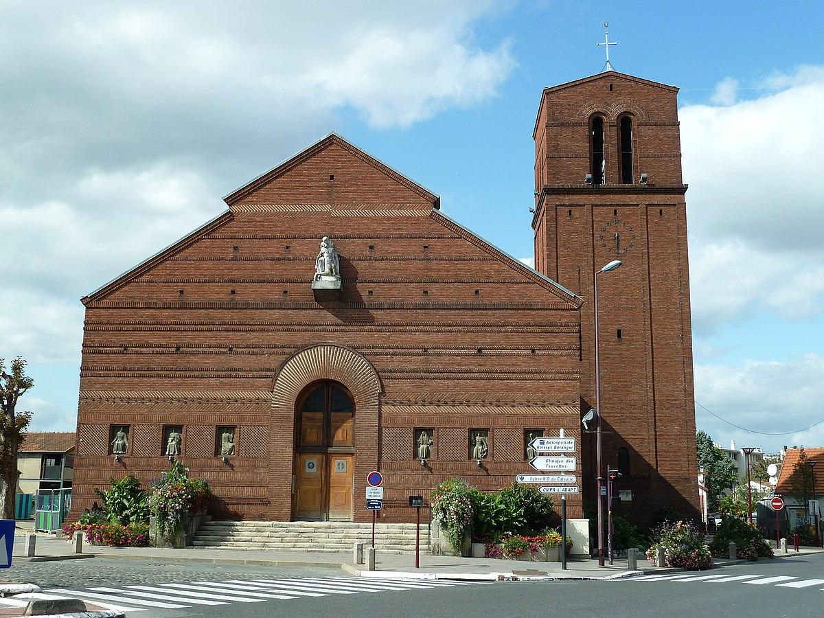 Glise Notre Dame Du Calvaire De Chtillon Wikipdia
