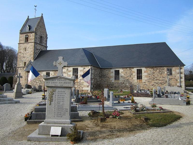 Les Loges-sur-Brécey, Manche