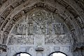 Église Saint Mathurin de Larchant-Tympan du portail nord-20120920.jpg