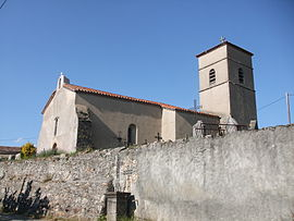 The church in Saint-Julien-le-Roux