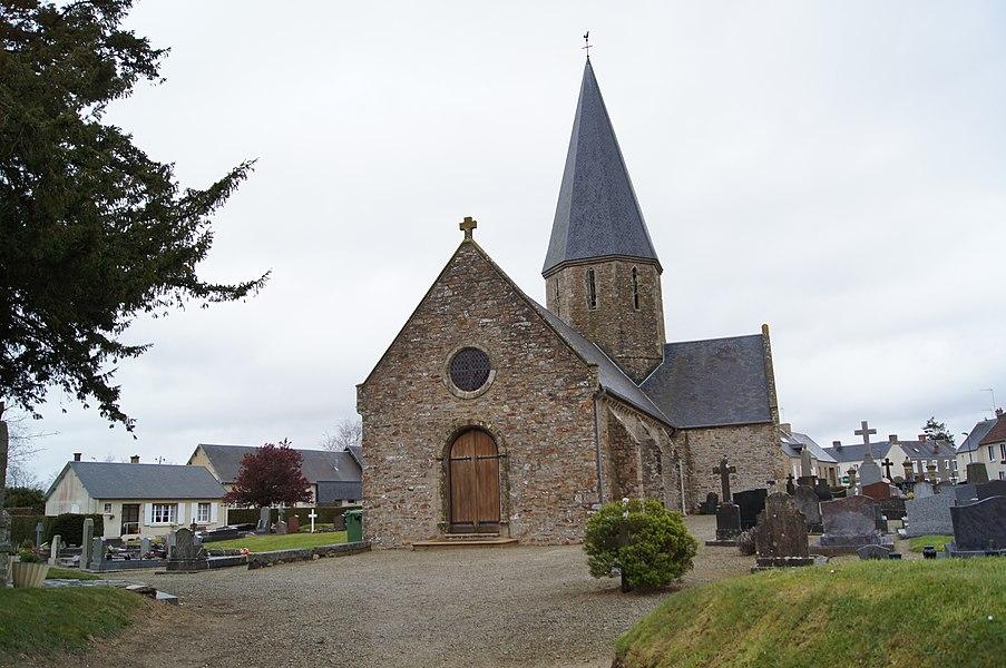 Église de l'Assomption Angoville-sur-Ay