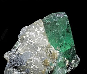 Colombian emeralds - Emerald, Muzo Mine, Vasquez-Yacopí Mining District, Colombia