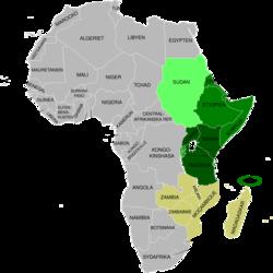 Karta Afrikas Ostkust.Ostafrika Wikipedia