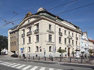 Czech National Bank - ČNB branch in České Budějovice