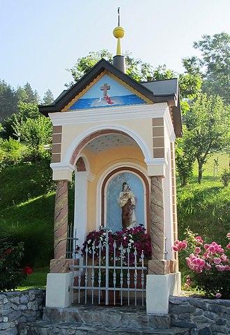 Črni Vrh, Dobrova–Polhov Gradec - Image: Črni Vrh Slovenia Sacred Heart Shrine