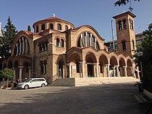 Ελληνόρυθμος Ναός Αγίας Τριάδας, Αχαρνών - panoramio (1).jpg
