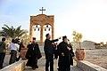 """Περιοδεία ΥΠΕΞ, κ. Δ. Δρούτσα, στη Μέση Ανατολή - Ιορδανία 17.10.2010 Επίσκεψη στον """"Τόπο του Βαπτίσματος"""" στον ποταμό Ιορδάνη (5092109551).jpg"""