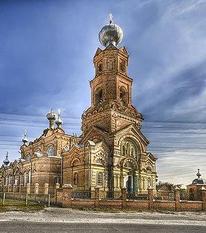 Okhtyrka - Image: Ахтырка Михайловская церковь