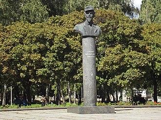 Jarosław Dąbrowski - Image: Житомир. Памятник Ярославу Домбровскому