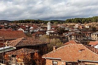 Mitrašinci village in Macedonia
