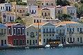Разноцветные дома Ano Symi. Остров Symi. Greece. Июнь 2014 - panoramio.jpg
