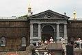 СПб. Петропавловская крепость, ворота Невские вид от Невы.JPG