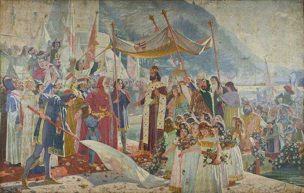 Цар Душан у Дубровнику