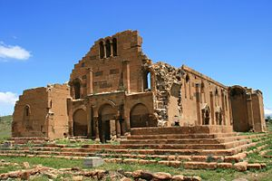 Yererouk - The ruins of Yererouk Basilica