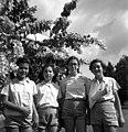 בית-זרע 1942 בערך - מימין- חוה פרג יוכבד כהנא זהרה רובין דרורה שמי - i btm11418.jpeg
