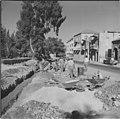 עבודות תשתית בגן העיר רחוב ממילה ירושלים 1959 יהודה איזנשטארק גנזך המדינה.jpg