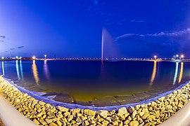 دریاچه بوستان جوان قم