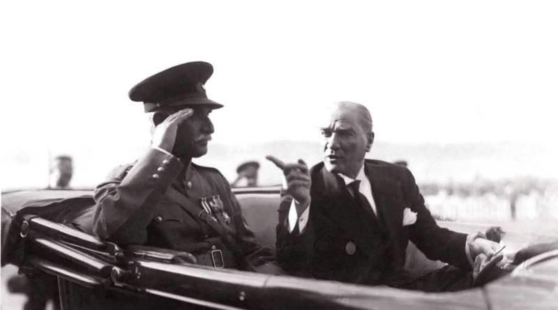 رضاشاه و مصطفی کمال آتاترک Reza Shah and Mustafa Kemal Atatürk