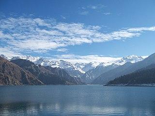 Heavenly Lake of Tianshan