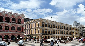 Macau - Senado Square.