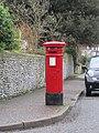 -2021-01-20 Queen Victoria Pillar Box, Cliff Road, Cromer.JPG